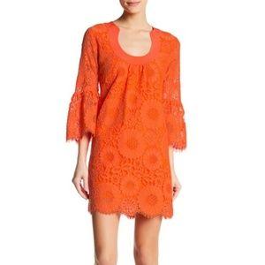 Trina Turk Bonita Lace Shift Dress Size 6